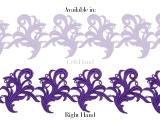 Tamara Ribbon Lace Right - cool aqua