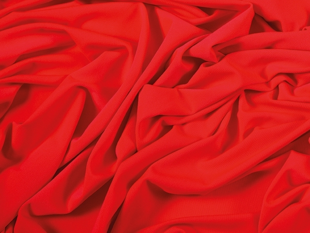 crepe luxury CHR-C - hot red