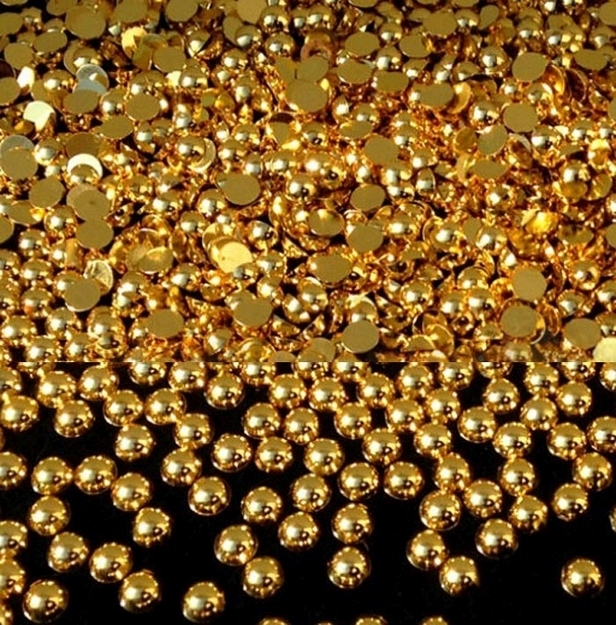 Perły gold