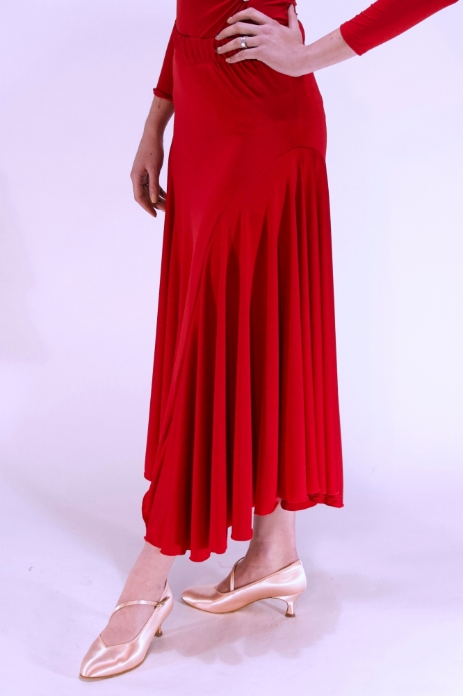 Spódnica S01 red