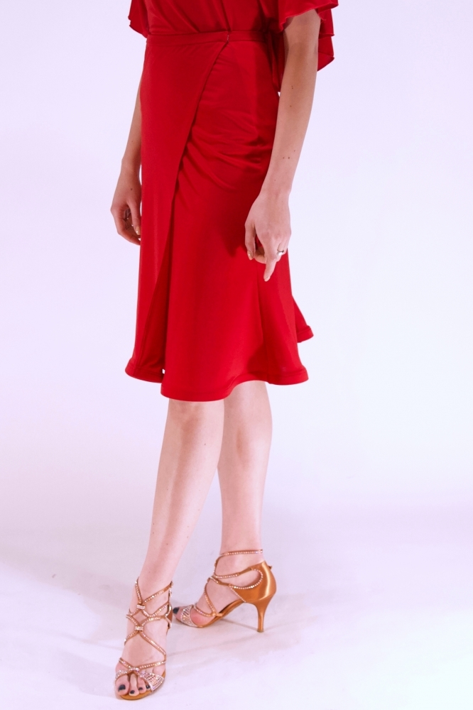 Spódnica S31 red