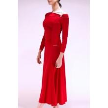 Sukienka D01 red