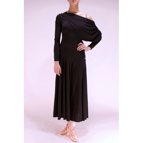 Sukienka D03 black