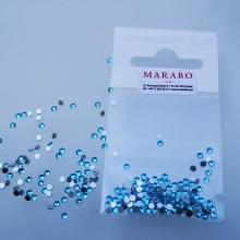 Cyrkonie na paznokcie Marabo aquamarine
