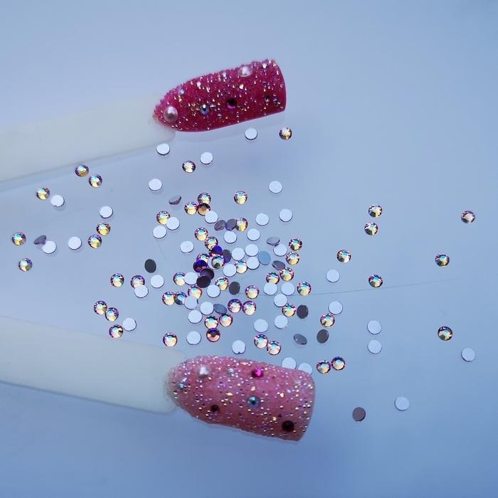 Cyrkonie na paznokcie Marabo light pink ab