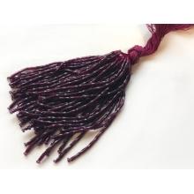 frędzle szklane-beads/ruby