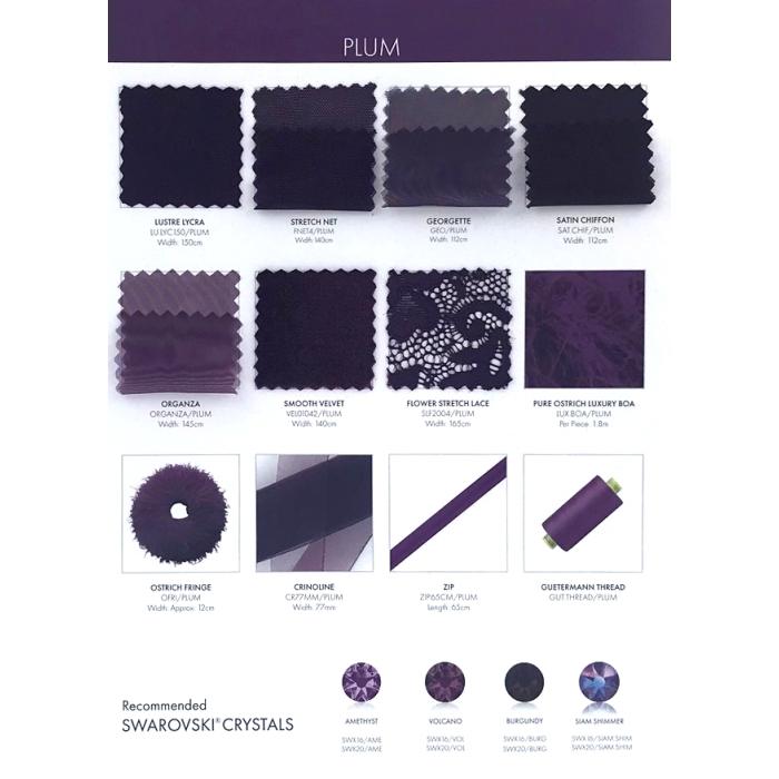 próbki karta koloru CHR-C/PLUM