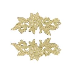 madonna lace pair/BUTTERCREAM