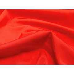 lycra lustre CHR-C/HOT RED