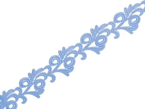 victoria ribbon lace/BLUEBELL