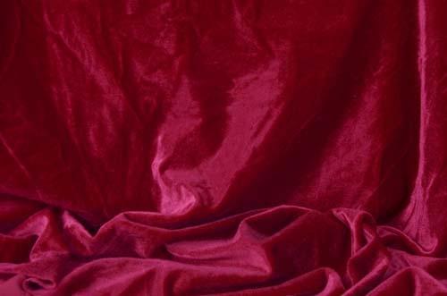 Smooth velvet DSI - burgundy