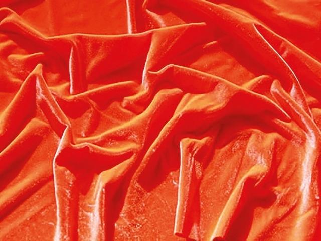 Smooth velvet DSI - orange