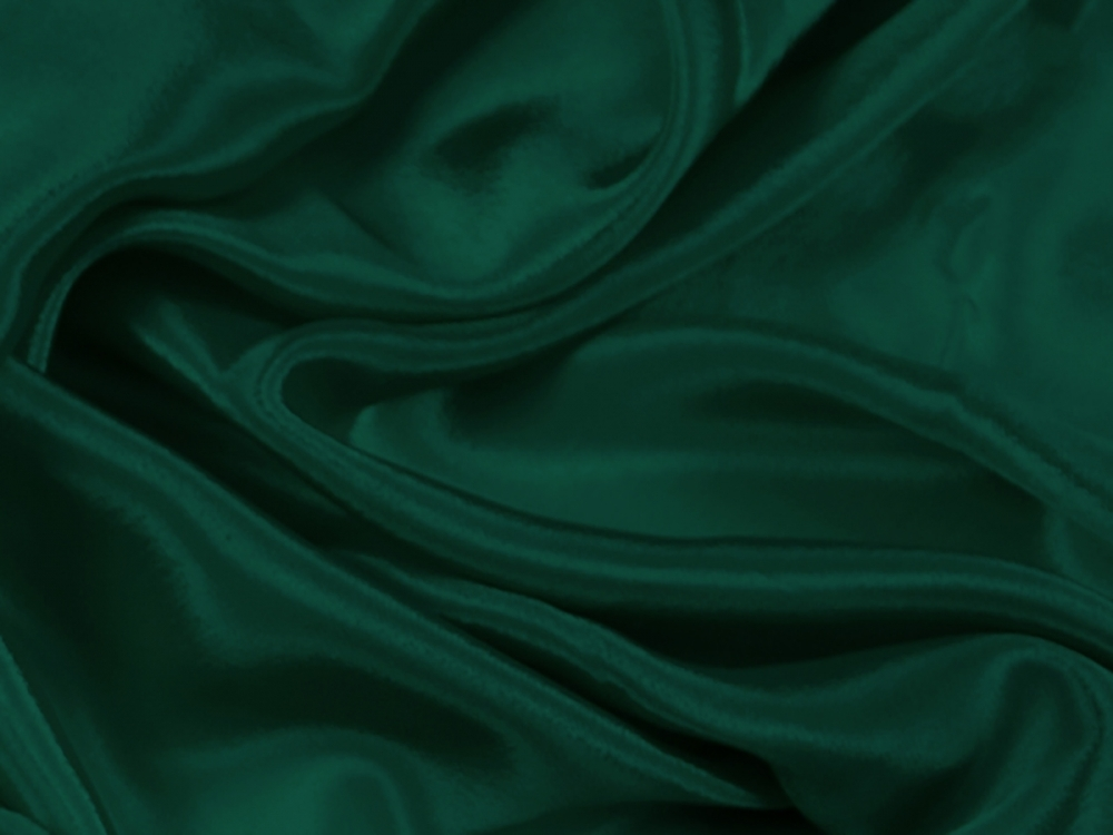satin chiffon CHR-C/FOREST GREEN