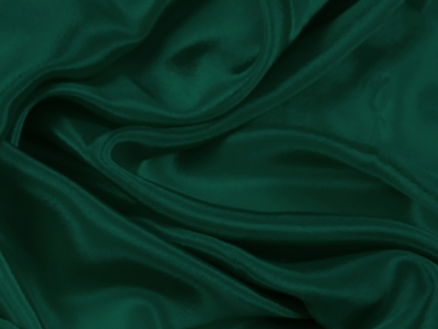 satin chiffon CHR-C/FOREST GREEN