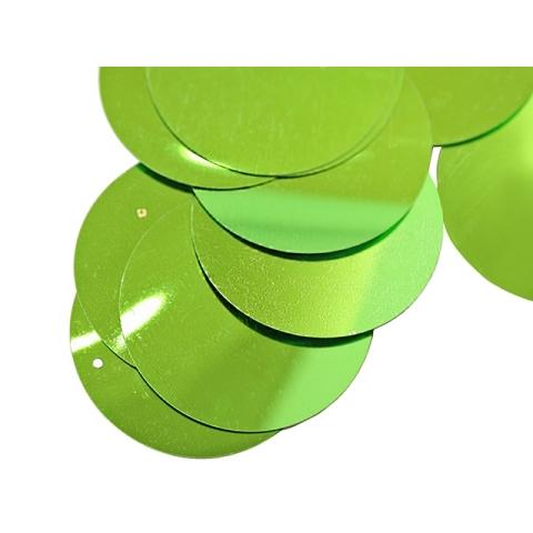 Cekiny 50mm green
