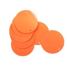 Cekiny 50mm orange