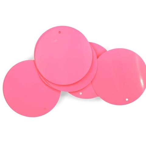 Cekiny 50mm pink tropicana