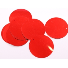 Cekiny 50mm red