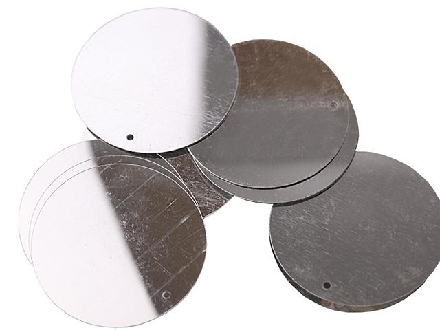 Cekiny 50mm silver