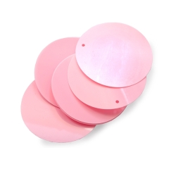 Cekiny 50mm sugar pink