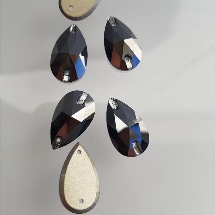 Łezki MARABO hematite - 13x22mm