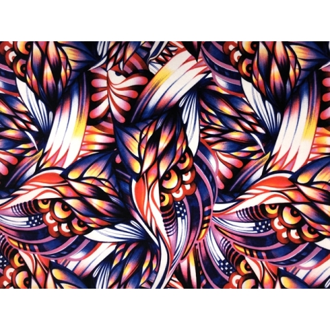 African Medley Printed Crepe