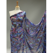 Abstract Printed Georgette