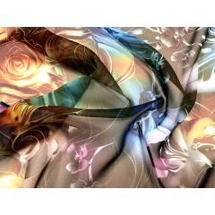 Modern Blooms Printed Georgette