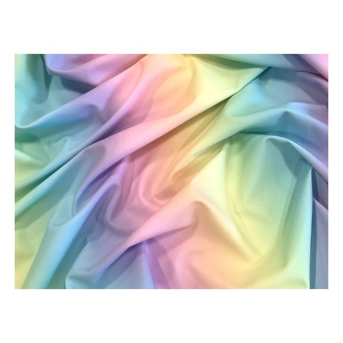 Rainbow Dream Printed Georgette