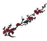 Cherry Blossom Motyw <span class='shop_red small'>(Multi hot red)</span>