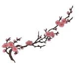 Cherry Blossom Motyw <span class='shop_red small'>(Multi pink)</span>