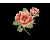 Imperial Flower Motyw  <span class='shop_red small'>(white on red)</span>