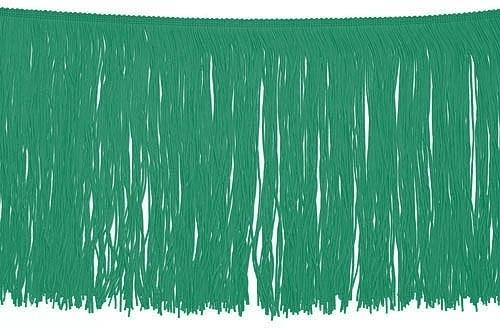 Frędzle elastyczne 15, 30 cm DSI  - emerald