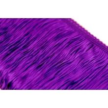 Frędzle elastyczne 15, 30 cm DSI  - purple