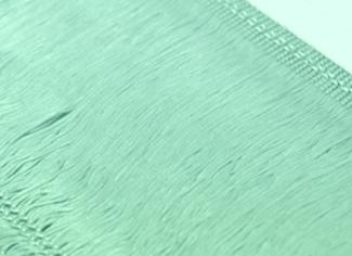 Frędzle elastyczne 15, 30 cm DSI  - peppermint