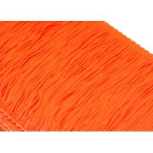 Frędzle elastyczne 15, 30 cm DSI  - orange