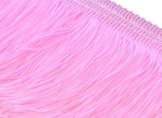 Frędzle elastyczne 15, 30 cm DSI  - rosepink
