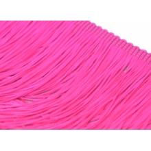 Frędzle elastyczne 15, 30 cm DSI  - cerise