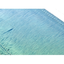 Frędzle elastyczne 15, 30 cm DSI  - pale turkus