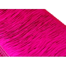 Frędzle elastyczne 15, 30 cm DSI  - hawaiian pink