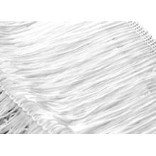 Frędzle elastyczne 15, 30 cm DSI  - white