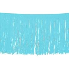 Frędzle elastyczne 15, 30 cm DSI  - aqua