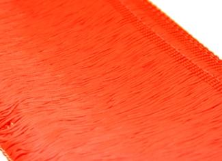 Frędzle elastyczne 15, 30 cm DSI  - flamered