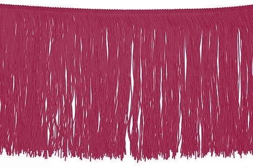 Frędzle elastyczne 15, 30 cm DSI  - burgundy