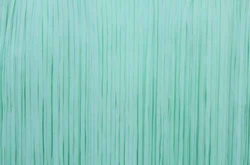 Frędzle płaskie elastyczne 25cm - peppermint