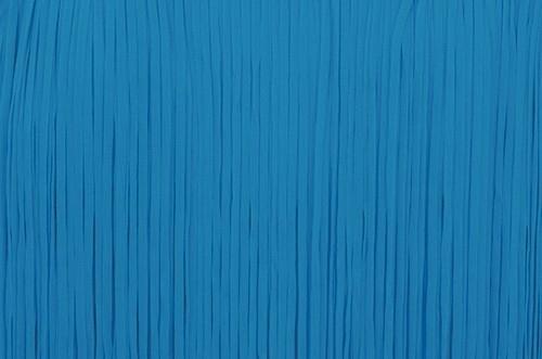 Frędzle płaskie elastyczne 25cm - turkus
