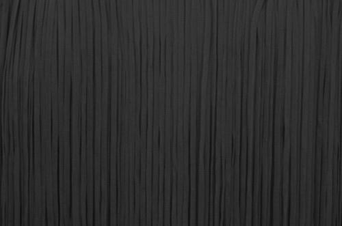 Frędzle płaskie elastyczne 25cm - black
