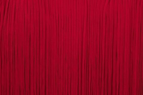 Frędzle płaskie elastyczne 25cm - flamenco