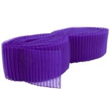 Krynolina plisowana 76mm - purple