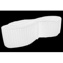 Krynolina plisowana 76mm - white